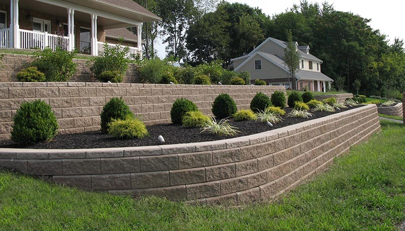 Allan Block Illini Brick Company Bloomington Illinois